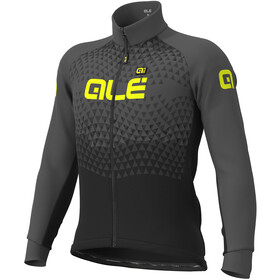 Alé Cycling Solid Summit DWR Jas Heren, black-grey